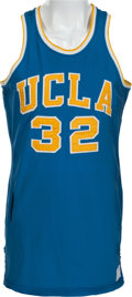 Basketball Collectibles:Uniforms, 1971-73 Bill Walton UCLA Bruins Game Worn Jersey, MEARS A9....