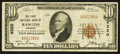 National Bank Notes:Wyoming, Rawlins, WY - $10 1929 Ty. 1 The First NB Ch. # 4320. ...