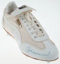 Autographs:Others, Andre Dawson Signed Puma Cleat. ...