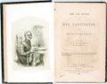 Books:Literature Pre-1900, B. P. Shillaber, editor. Life and Sayings of Mrs. Partington,and Others of the Family. New York: J. C. Derby, 1...