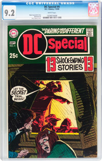 DC Special #4 (DC, 1969) CGC NM- 9.2 White pages