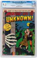 Golden Age (1938-1955):Horror, Adventures Into The Unknown #19 Mile High pedigree (ACG, 1951) CGCNM- 9.2 Off-white to white pages....