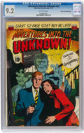 Golden Age (1938-1955):Horror, Adventures Into The Unknown #25 Mile High pedigree (ACG, 1951) CGC NM- 9.2 Off-white pages....