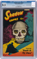 Golden Age (1938-1955):Superhero, Shadow Comics V9#5 Mile High pedigree (Street & Smith, 1949) CGC VF+ 8.5 Off-white to white pages....