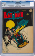 Golden Age (1938-1955):Superhero, Batman #26 (DC, 1945) CGC VF- 7.5 White pages....