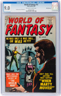 World of Fantasy #13 White Mountain pedigree (Atlas, 1958) CGC VF/NM 9.0 Off-white to white pages