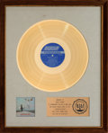 Music Memorabilia:Awards, Rolling Stones Get Yer Ya-Ya's Out! RIAA Gold Record Award(London NPS-5, 1970)....