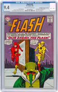 Silver Age (1956-1969):Superhero, The Flash #147 Don/Maggie Thompson Collection pedigree (DC, 1964) CGC NM 9.4 Off-white to white pages....