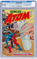 Silver Age (1956-1969):Superhero, Showcase #36 The Atom - Don/Maggie Thompson Collection pedigree (DC, 1962) CGC VF/NM 9.0 Off-white to white pages....