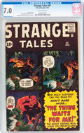 Silver Age (1956-1969):Science Fiction, Strange Tales #92 (Marvel, 1962) CGC FN/VF 7.0 Off-white pages....