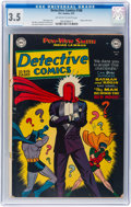 Golden Age (1938-1955):Superhero, Detective Comics #168 (DC, 1951) CGC VG- 3.5 Off-white to white pages....