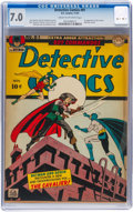 Golden Age (1938-1955):Superhero, Detective Comics #81 (DC, 1943) CGC FN/VF 7.0 Cream to off-white pages....