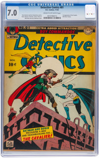 Detective Comics #81 (DC, 1943) CGC FN/VF 7.0 Cream to off-white pages