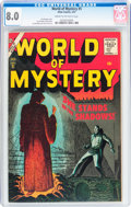 Silver Age (1956-1969):Horror, World of Mystery #5 (Atlas, 1957) CGC VF 8.0 Cream to off-whitepages....