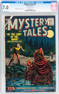 Silver Age (1956-1969):Horror, Mystery Tales #49 (Atlas, 1957) CGC FN/VF 7.0 Off-white pages....