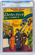 Golden Age (1938-1955):Superhero, Detective Comics #175 (DC, 1951) CGC VF+ 8.5 Off-white to white pages....