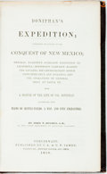 Books:Americana & American History, John T. Hughes. Doniphan's Expedition; Containing an Account ofthe Conquest of New Mexico. Cincinnati: J.A. & U.P. ...