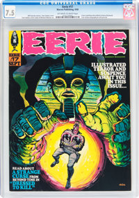 Eerie #17 (Warren, 1968) CGC VF- 7.5 Off-white to white pages