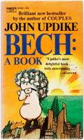 Books:Literature 1900-up, John Updike. SIGNED. Bech: A Book. Fawcett Crest, 1971.First edition. Signed by the author. Original printed wr...