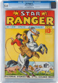 Platinum Age (1897-1937):Miscellaneous, Star Ranger #1 (Chesler Publications, 1937) CGC VG/FN 5.0 Slightly brittle pages....