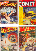 Pulps:Science Fiction, Assorted Science Fiction Pulps First Issues Group (Various,1938-51) Condition: Average VG+.... (Total: 6 Items)