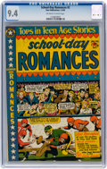 Golden Age (1938-1955):Romance, School Day Romances #2 (Star Publications, 1950) CGC NM 9.4 Off-white to white pages....