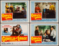 "Movie Posters:Thriller, Gorilla at Large (20th Century Fox, 1954). Title Lobby Card & Lobby Cards (3) (11"" X 14""). Thriller.. ... (Total: 4 Items)"