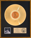Music Memorabilia:Awards, Elvis Presley On Stage February 1970 RIAA Gold Record Award(RCA LSP-4362, 1970). ...