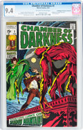 Bronze Age (1970-1979):Horror, Chamber of Darkness #3 Don/Maggie Thompson Collection pedigree(Marvel, 1970) CGC NM 9.4 Off-white to white pages....