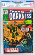 Bronze Age (1970-1979):Horror, Chamber of Darkness #5 Don/Maggie Thompson Collection pedigree(Marvel, 1970) CGC NM/MT 9.8 White pages....