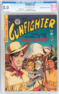 Golden Age (1938-1955):Western, Gunfighter #12 Don/Maggie Thompson Collection pedigree (EC, 1949) CGC VF 8.0 Off-white to white pages....