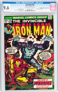 Iron Man #56 Don/Maggie Thompson Collection pedigree (Marvel, 1973) CGC NM+ 9.6 Off-white to white pages