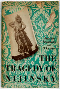 Books:Biography & Memoir, Anatole Bourman and D. Lyman. The Tragedy of Nijinsky. New York: Whittlesey House, [1936]. Second printing. Publishe...