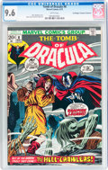 Bronze Age (1970-1979):Horror, Tomb of Dracula #8 Don/Maggie Thompson Collection pedigree (Marvel,1973) CGC NM+ 9.6 White pages....