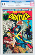 Bronze Age (1970-1979):Horror, Tomb of Dracula #9 Don/Maggie Thompson Collection pedigree (Marvel,1973) CGC NM 9.4 White pages....