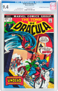 Bronze Age (1970-1979):Horror, Tomb of Dracula #11 Don/Maggie Thompson Collection pedigree(Marvel, 1973) CGC NM 9.4 Off-white to white pages....