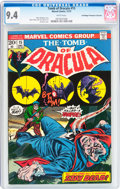 Bronze Age (1970-1979):Horror, Tomb of Dracula #15 Don/Maggie Thompson Collection pedigree(Marvel, 1973) CGC NM 9.4 White pages....
