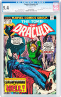 Bronze Age (1970-1979):Horror, Tomb of Dracula #19 Don/Maggie Thompson Collection pedigree(Marvel, 1974) CGC NM 9.4 White pages....