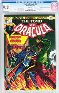 Bronze Age (1970-1979):Horror, Tomb of Dracula #21 Don/Maggie Thompson Collection pedigree(Marvel, 1974) CGC NM- 9.2 White pages....