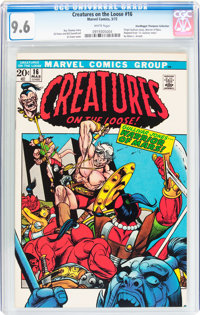 Creatures on the Loose #16 Don/Maggie Thompson Collection pedigree (Marvel, 1972) CGC NM+ 9.6 White pages