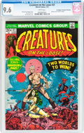 Bronze Age (1970-1979):Horror, Creatures on the Loose #21 Don/Maggie Thompson Collection pedigree(Marvel, 1973) CGC NM+ 9.6 White pages....