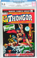 Bronze Age (1970-1979):Miscellaneous, Creatures on the Loose #22 (Marvel, 1973) CGC NM+ 9.6 Whitepages....