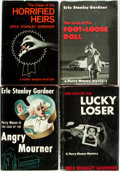 Books:Mystery & Detective Fiction, Erle Stanley Gardner. Group of Four First Edition, Three First Printing Perry Mason Books Published by Morrow. T... (Total: 4 Items)