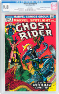 Bronze Age (1970-1979):Superhero, Marvel Spotlight #8 Ghost Rider - Don/Maggie Thompson Collectionpedigree (Marvel, 1973) CGC NM/MT 9.8 White pages....