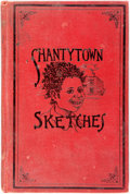 Books:Literature Pre-1900, [African American Dialect Tales]. Anthony J. Drexel Biddle. Shantytown Sketches. Philadelphia: Drexel Biddle, 18...