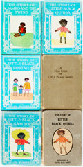 Books:Children's Books, [African American]. Group of Six Children's Books. Variouspublisher's and dates. Sixteenmos. Publisher's original cloth or... (Total: 6 Items)