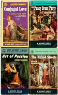 Books:Pulps, [Vintage Paperbacks]. Group of Four Vintage Signet Paperbacks. NewYork: Signet, [1950s]. Includes works by Simenon, Moravia...(Total: 4 Items)
