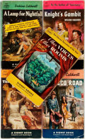 Books:Pulps, [Vintage Paperbacks]. Group of Five Vintage Signet Paperbacks. NewYork: Signet, [1950s]. Comprised of works by Caldwell, Fa...(Total: 5 Items)