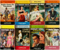 Books:Pulps, [Vintage Paperbacks]. Group of Eight Vintage Signet Paperbacks. NewYork: Signet, [1950s]. Includes works by Gresham, Spilla... (Total:8 Items)