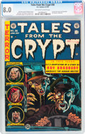 Golden Age (1938-1955):Horror, Tales From the Crypt #36 (EC, 1953) CGC VF 8.0 Off-white to whitepages....